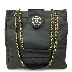 Best Business Tote Ever*Chanel XL Chain Supermodel